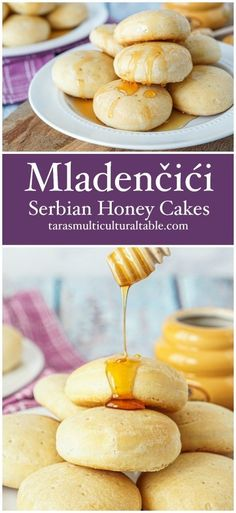 Mladenčići (Serbian Honey Cakes) - Tara's Multicultural Table Best Picture For world cuisine restaurant For Your Taste You are looking for something, and it Quick Bread Rolls, Cake Recipes, Dessert Recipes, Serbian Recipes, Good Food, Yummy Food, Honey Cake, Bread And Pastries, Polish Recipes