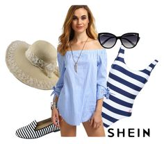 """SheIn: Comfy beach"" by kacenka-1 on Polyvore featuring Arcopedico, Perfect Moment and La Perla"
