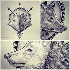 The wolf You Dees is the wolf who wins