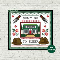Don't+Go+To+Sleep++Cross+Stitch+Pattern+PDF++Modern+by+PyroDogPins