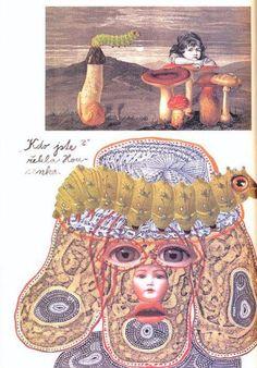Jan Svankmajer, Illustration for Alice in Wonderland