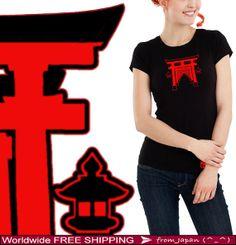 SENBON TORII 千本鳥居 - Japanese Torii gate T shirt from Japan