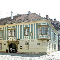 Sopron, Hungary Austria, Budapest Hungary, Homeland, Europe, Travel Photos, Countryside, Facade, Adventure, Mansions