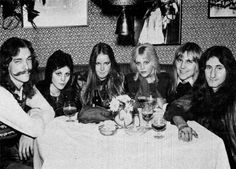 The Runaways and RUSH! (The Runaways) From left: Neil Peart, Joan Jett, Lita Ford, Cherie Currie, Alex Lifeson, Geddy Lee.