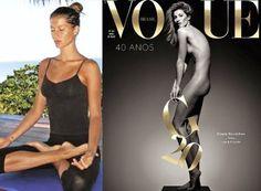 gisele nude vogue yoga