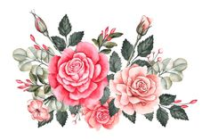 Beautiful vintage floral bouquet Free Ve...   Free Vector #Freepik #freevector #flower #vintage #floral #nature
