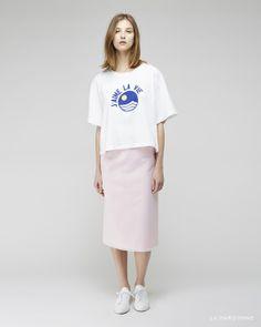 Jacquemus / Le T-Shirt J'aime La Vie Jacquemus / La Jupe Longue Moustique Woman by Common Projects / Original Achilles Low Sneaker