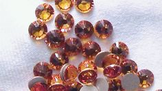 Topaz 2058 Swarovski Elements Rhinestone Flatback 16ss 10 pieces $1.25 #thecraftstar #supplies #crafting #topaz #swarovski #crystal #rhinestone #flatback #findings #orange #brown
