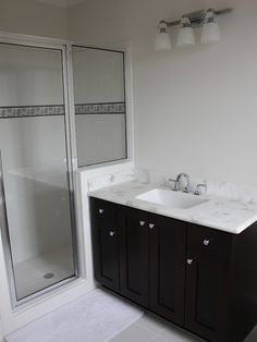 interior design adorable traditional bathroom also dark brown vanity color with white cultured marble countertops