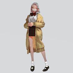 본문 이미지 Illustration Girl, Character Illustration, Girls Characters, Female Characters, Game Character, Character Concept, Tmblr Girl, Wow Art, Anime Outfits