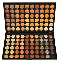 BLUETTEK 120 Color Eyeshadow Makeup Palette - Matte Earth...