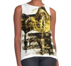 'World Becomes What We Create Via Our Energy' Contrast Tank available at http://www.redbubble.com/people/chrisjoy/works/4749540-the-world-becomes-what-we-create-via-our-energy