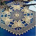 Amazing chart directions for Crochet Butterflies!