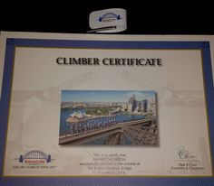 That time I did the Sydney Harbour BridgeClimb November 2015. Look I got a certificate!  Plus the pictures of the climb on a cool thumb drive. #sydneyharbourbridge #sydneyharbourbridgeclimb #harbourbridgeclimb #sydneybridgeclimb #sydneyoperahouse #sydneyharbour #sydneyaustralia #sydney #australia #travel #travelislife #wanderlust #ilovetravel #addictedtotravel #solotraveler #generallysolotraveler #solotravel #solotraveller #instagood #instapic #instatravel #travelbug #travelnerds #nerdtravel…
