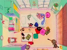 Sailor Moon's room haha