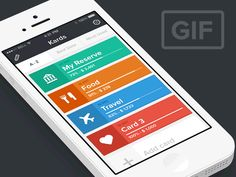Dribbble - Interaction overview by Mihnea Zamfir #UImotion