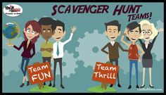 Unique Ways to Create Scavenger Hunt Teams #ScavengerHunt #ThrillofHunt