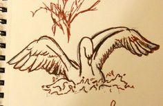 Swan Tattoo by ~Butterflier00 on deviantART