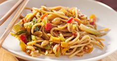 You Won't Believe How Easy These Spicy Peanut Noodles Are To Make At Home…