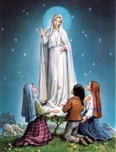 May 13 is the Feast of Our Lady of Fatima. In a world growing more skeptical of God and cynical of religion, there is Fatima. Catholic Art, Catholic Saints, Religious Art, Roman Catholic, Catholic Online, Blessed Mother Mary, Blessed Virgin Mary, Image Jesus, Lady Of Fatima