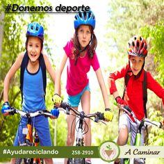 ¡No pierdas la oportunidad de hacerlos felices! Cualquier donativo puede ser una iniciativa en los niños para hacer deporte. ¡ Comparte lo que ya no usas! Contáctenos : 258 - 2910 / Rpc. 998178541 http://acaminarperu.org/donaciones.html