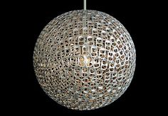 recycled light fixture