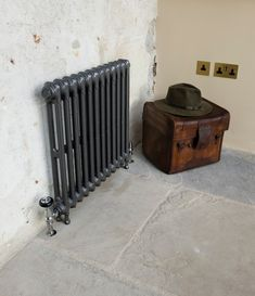 Cast iron radiators from our Victoriana 2 Column range. A shallow depth cast iron radiator making it ideal for hallways & narrow rooms. Victorian Radiators, Traditional Radiators, Narrow Rooms, Little Greene, Cast Iron Radiators, Sand Casting, Architectural Antiques, Steel Wall, Towel Rail