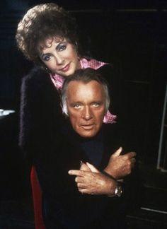 Liz and Richard Burton