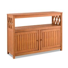 Home Improvements Natural Finish Tropical Hard Wood Outdoor Patio Buffet Storage Cabinet Console Patio Bar Cabinet Outdoor Living Furniture Outdoor Pool Table, Outdoor Console Table, Outdoor Buffet, Outdoor Coffee Tables, Patio Bar, Outdoor Dining Chairs, Patio Table, Dining Chair Set, Sideboard Table