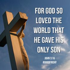 Repin to remind others of the meaning of Good Friday! #GoodFriday #Friday #Jesus #Easter #Cross #Bible #BibleVerse #Scripture