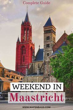 Ready to step into a fairytale book? So, check out this guide for a weekend in Maastricht, a medieval city in the south of the Netherlands. I've put together a list of the best attractions in the city, including day trips and where to eat. All the information you need before visiting Maastricht. #Weekend #Maastricht #Netherlands #travel #thingstodo