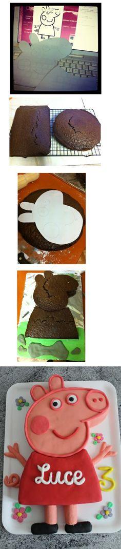 torta de peppa pig