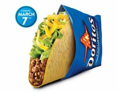 Cool Ranch Doritos Locos Taco - today