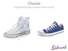 #Chucks waren ursprünglich ausschließlich als Sportschuhe gedacht. Mit der Zeit entwickelten sie sich zum Sneaker für Freizeit schlechthin.