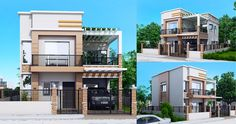 Carlo is a 4 bedroom 2 story house floor plan that can be built in a 180 square meter lot. With at least 12 meters width, this house design can conveniently stand with all sides free from firewalls or 2 Story House Design, 2 Bedroom House Design, Duplex House Design, House Front Design, Simple House Plans, Family House Plans, Dream House Plans, House Floor Plans, Modern House Philippines