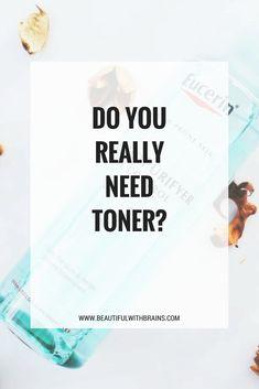 The truth about toner: do you really need it? #skincare #beautyscience #skincareblogger #skincareobsessed