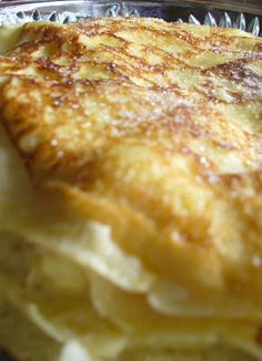 Lasagna, French Toast, Simple Cakes, Breakfast, Ethnic Recipes, Food, Glass, Image, France