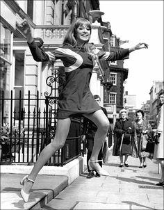 Pattie Boyd, 1968.
