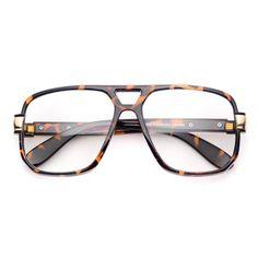 Kinsley Aviator Clear Lens Aviator Glasses
