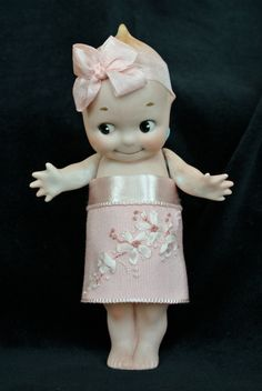 "Reserved for ""S"" Unique 6 3/4 inch Antique Bisque Rose O'Neill Kewpie Doll item…"