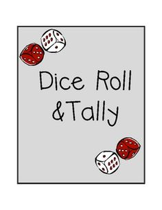 This dice game increases dice recognition skills, addition skills, tallying skills, and mental math.  There are 3 different versions:  easy, medium...