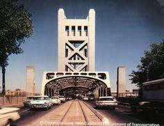 The Tower Bridge in 1960