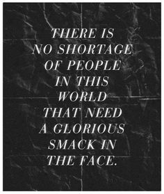 haveurattitude | there is no shortage of people
