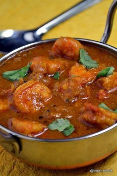 Indian Khana: Chettinad Prawn Curry | Chettinad Eral Kuzhambu