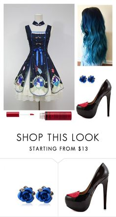 """Wonderland Style"" by elizabeth-stushnoff ❤ liked on Polyvore featuring TaylorSays and Charlotte Russe"