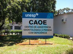 Centro de Assistência Odontológica à Pessoa com Deficiência – CAOE, UNESP - Araçatuba – SP
