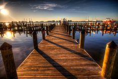 Click the link below to download the Free Stock PhotoWooden Wood Boat Dock Sunset Sunrise Ocean Lake