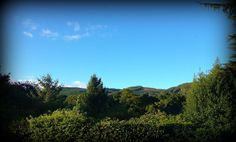 View from the Craigatin House Pitlochry office window.