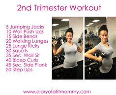 2nd trimester workout
