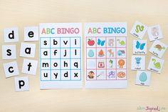Alphabet and letter sounds BINGO.